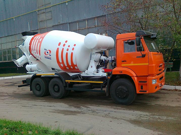 Автобетоносмеситель 58149 W на рест. шасси КамАЗ-6520