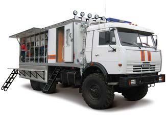 Аварийно-спасательный автомобиль МЧС на шасси КАМАЗ продажа ...